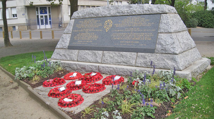 Lancastria Memorial in Saint-Nazaire