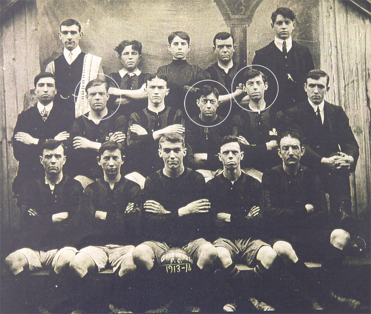 Greenvale Football Club, Cookstown 1913-1914